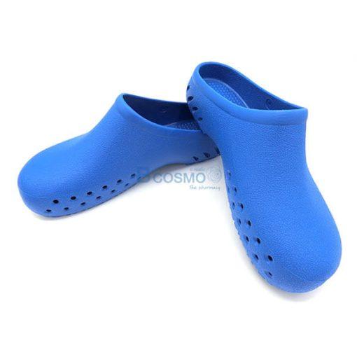 MT0212-BL รองเท้าห้องผ่าตัดกันลื่น ANNO รุ่น TPE1005 สีฟ้า
