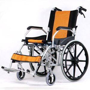 WC0603-OR - รถเข็นอัลลอยล้อ 20 นิ้ว สีส้ม Y873-3