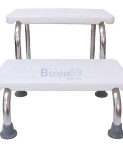 บันไดขึ้นเตียง , เก้าอี้นั่งอาบน้ำ แบบบันได 2 ขั้น 3108
