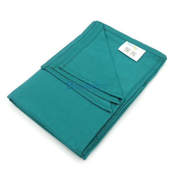 EB1401-DGR - ผ้าขวางเตียง HOSPRO สีเขียวเข้ม 150x95 CM.-3