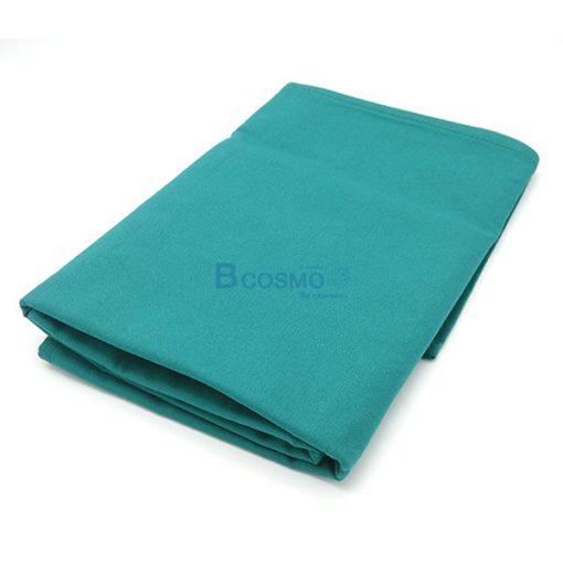 EB1401-DGR - ผ้าขวางเตียง HOSPRO สีเขียวเข้ม 150x95 CM.-4
