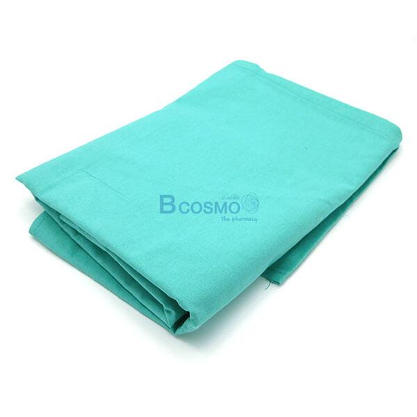 EB1401-GR - ผ้าขวางเตียง HOSPRO สีเขียวอ่อน 150x95 CM.