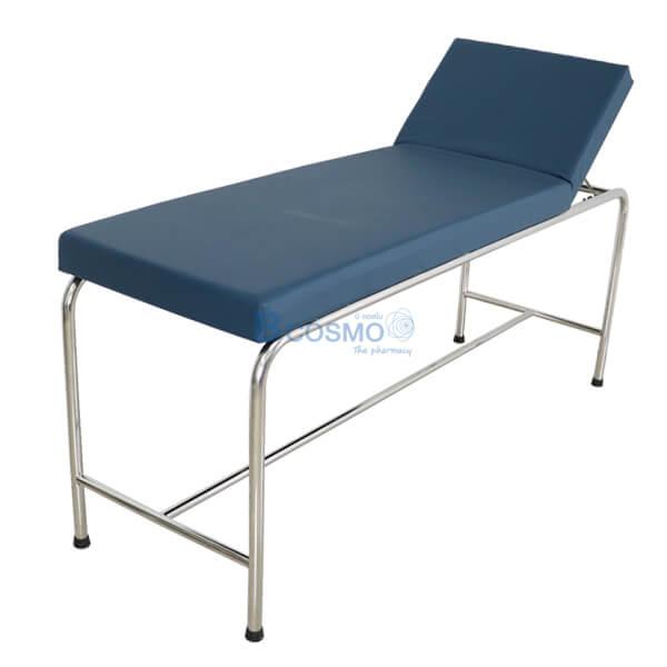 MT0803 - เตียงตรวจโรค โครงเตียงกลม สแตนเลส-1