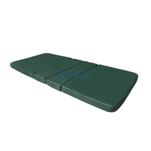 ที่นอนฟองน้ำหุ้มหนังเทียม PS271 มุมโค้งพับ 4 ตอน หนา 3 นิ้ว