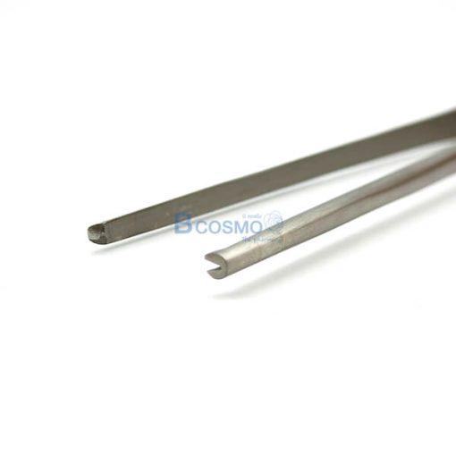 P-7138 MT0023-25 ปากคีบสำลีไม่มีเขี้ยว DRESSING FORCEPS 25 cm. -1
