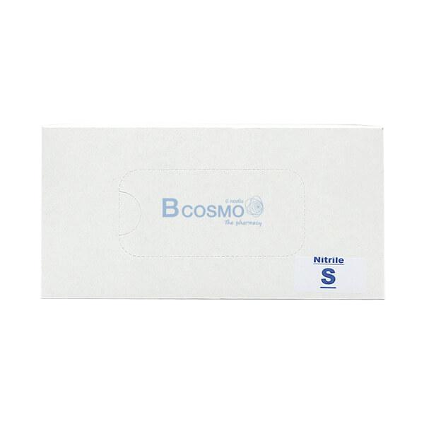 P-7145 EF0709-S-BL - ถุงมือไนไตร Nitrile Glove 9' 4 Mil Blue Size S -1