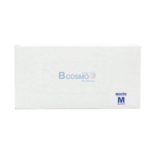 P-7146 EF0709-M-BL - ถุงมือไนไตร Nitrile Glove 9' 4 Mil Blue Size M