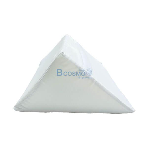 P-7198 EB1605-WH - หมอนสามเหลี่ยม 30x25x20 สีขาว -2