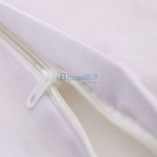 P-7198 EB1605-WH - หมอนสามเหลี่ยม 30x25x20 สีขาว -9