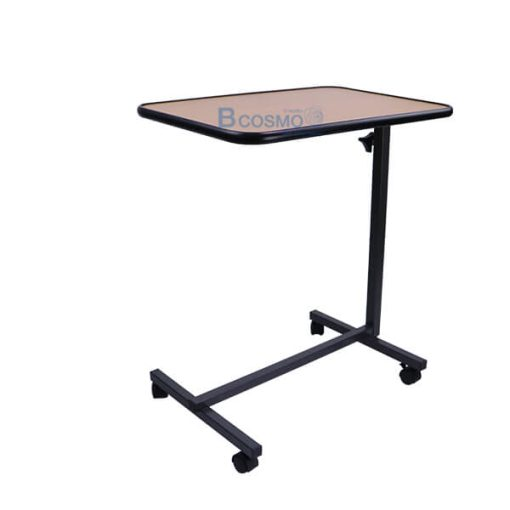 EB0007-WO - โต๊ะคร่อมเตียง พับถาดวางอาหาร สีไม้