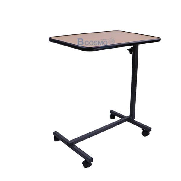EB0007-WO-โต๊ะคร่อมเตียง-พับถาดวางอาหาร-สีไม้ โต๊ะคร่อมเตียง พับถาดวางอาหาร สีไม้