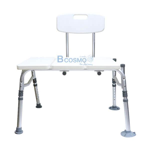 P-7177 ET0015 - เก้าอี้นั่งอาบน้ำ มีพนักพิง ที่นั่งใหญ่ 3301 -11
