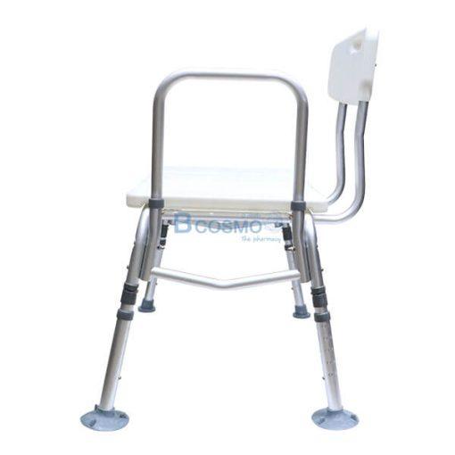 P-7177 ET0015 - เก้าอี้นั่งอาบน้ำ มีพนักพิง ที่นั่งใหญ่ 3301