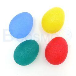ซิลิโคนบริหารมือ รูปไข่ คละสี