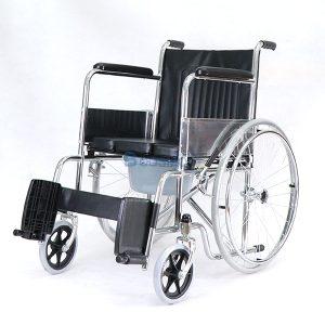 P-7238-WC1402-รถเหล็กนั่งถ่าย-FS609-U-6-300x300 รถเข็นผู้ป่วย นั่งถ่ายพับได้ โครงสร้างจากเหล็ก รุ่น FS609U