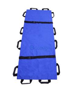 ผ้าประคองตัวผู้ป่วยพับได้ สีฟ้า