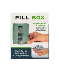 กล่องจัดชุดยา PILL PRO 7 วัน ขนาดใหญ่