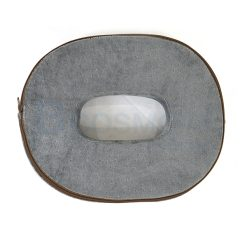 เบาะรองนั่งเพื่อสุขภาพรูปไข่ สีเทา