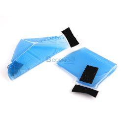 เบาะเจลรองส้นเท้าแบบเรียบ CLEARVIEW (Comfort Heel Cups With Strap) AP034