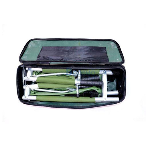 EB2003-เปลสนามอลูมิเนียมพับได้-4-ตอน-พร้อมกระเป๋า-(CN)