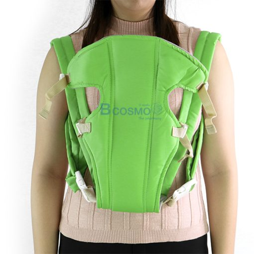 MC0004-GR-เป้อุ้มเด็ก สีเขียว