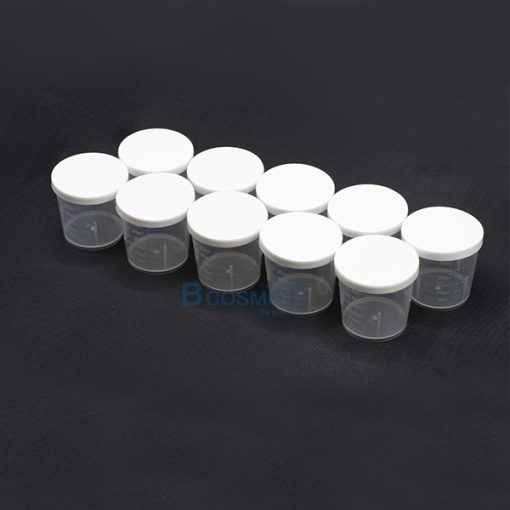 MT0048-ถ้วยพลาสติกมีฝาครอบ 30 ml.