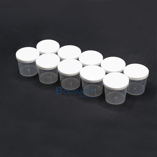 MT0048-ถ้วยพลาสติกมีฝาครอบ-30-ml.-5 ถ้วยพลาสติกมีฝาครอบ 30 ml.