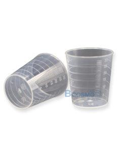 [ แพ็ค 10 ชิ้น] ถ้วยพลาสติกไม่มีฝาครอบ 30 ml.