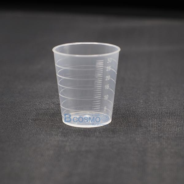 MT0049-ถ้วยพลาสติก 30 ml.