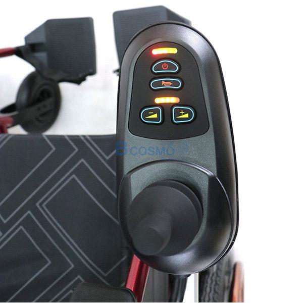 WC0003-รถเข็นไฟฟ้าล้อแม็ก 24 นิ้ว WHEELCHAIR YUYANG