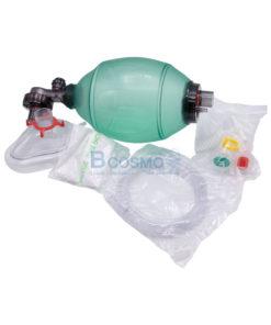 อุปกรณ์ช่วยหายใจมือบีบ Ambu Bag PVC สีเขียว