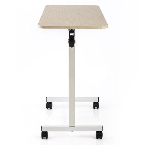 EB0008-โต๊ะคร่อมเตียง Yuwell YU619 สีครีม