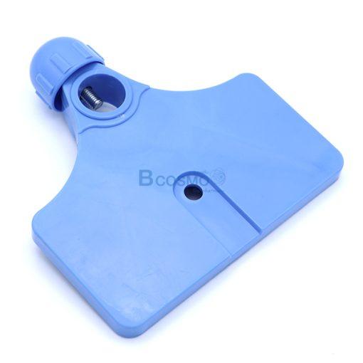 EB0196-มือจับสี่เหลี่ยม เสาน้ำเกลือแบบ 5 แฉก 4 หู