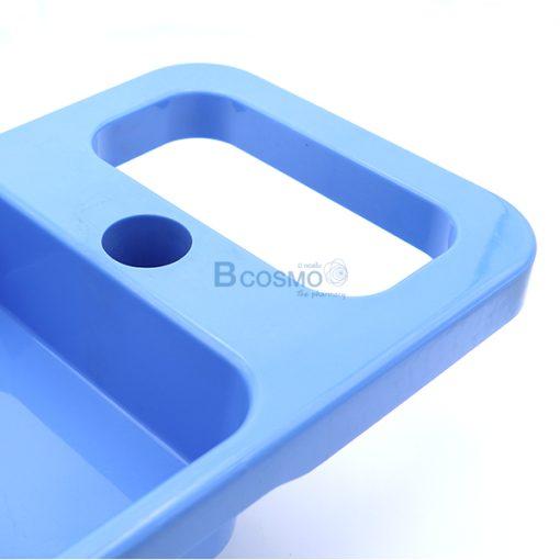 EB0198-มือจับถาดสี่เหลี่ยม เสาน้ำเกลือแบบ 5 แฉก 4 หู