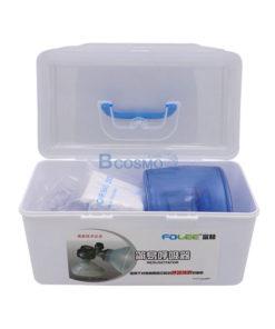 อุปกรณ์ช่วยหายใจมือบีบ FOLEE Ambu Bag PVC สีฟ้า