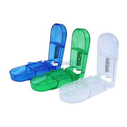 PA1708-กล่องตัดเม็ดยา คละสี