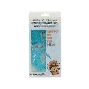 อุปกรณ์ประคบร้อนเย็นเคนโกะ หน้ากาก Gel Bead-Face Mask Blue