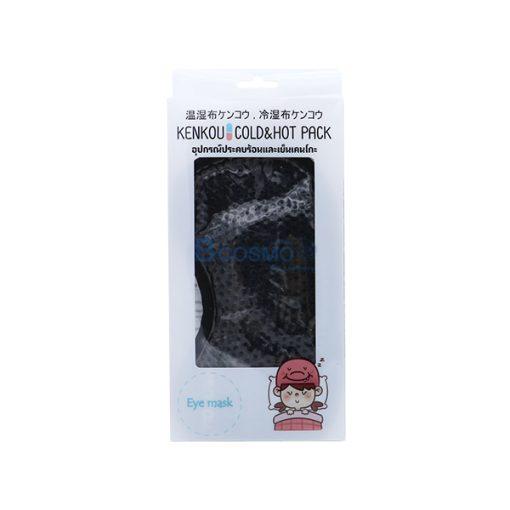 PA2207-MB-อุปกรณ์ประคบร้อนเย็นเคนโกะ หน้ากาก Gel Bead-Face Eye Mask Black
