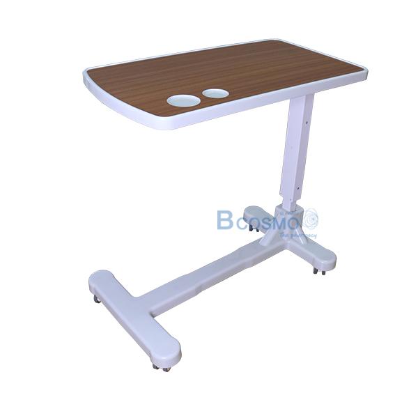 -ใหม่ยังไม่มีรหัส_1 โต๊ะคร่อมเตียง ถาด ABS ลายไม้