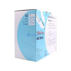 ถุงมือศัลยกรรม มีแป้ง มีขอบ Motex Surgical Gloves Sterile No.7 แพ็ค 50 คู่