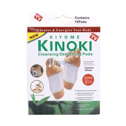 แผ่นแปะเท้า Cleansing Detox Foot Pads KINOKI 10 ชิ้น