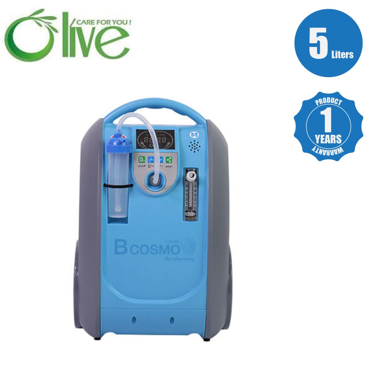 -OLIVE-B-1-5l. ชุดเครื่องผลิตออกซิเจนรุ่นพกพา OLIVE B-1 5l.
