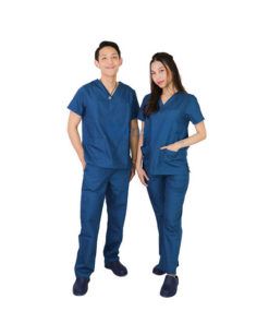 ชุดเจ้าหน้าที่ทางการแพทย์ ANNO สีน้ำเงิน
