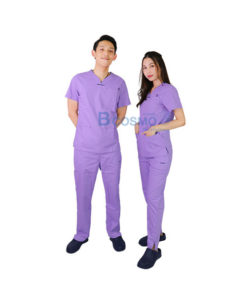 ชุดเจ้าหน้าที่ทางการแพทย์ ANNO สีม่วง