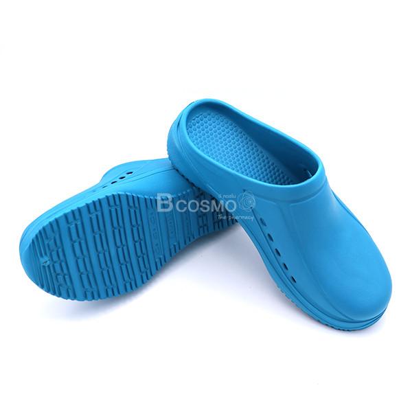 MT0214-S-CY-4-ลายน้ำ รองเท้าห้องผ่าตัดกันลื่น ANNO ANE1701 สีฟ้าเขียว