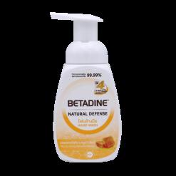 โฟมล้างมือ เบตาดีน มานูกาฮันนี่ Betadine 225 ml.