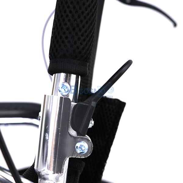 WC0605-BL-21-ลายน้ำ รถเข็นอลูมิเนียมอัลลอยล้อแม็ก 20 นิ้ว สีน้ำเงิน