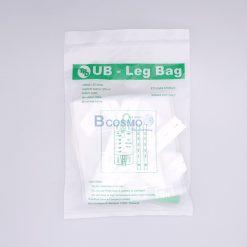ถุงปัสสาวะติดขา UB-Leg Bag TPD 500 ml. แพ็ค 12 ชุด