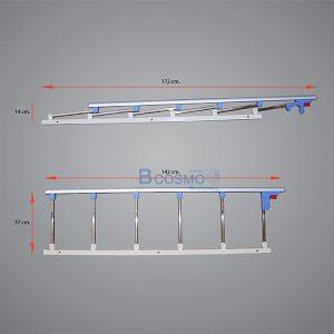 PB9801-BL-ราวสไลด์กั้นข้างแบบพับได้-6-ขั้น-สีฟ้า_02-300x300 ราวสไลด์กั้นข้างแบบพับได้ 6 ขั้น สีฟ้า