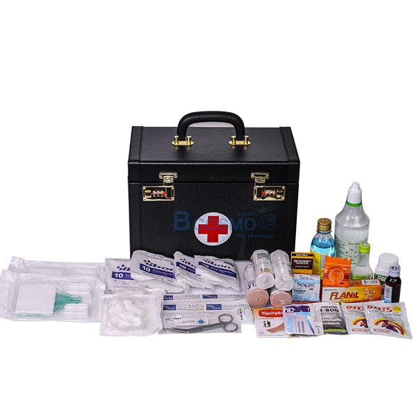 _02 เซ็ตกระเป๋าปฐมพยาบาลแบบหูหิ้ว พร้อมยา ส่งฟรี
